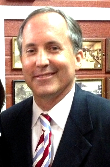 Attorney General Ken Paxton. (Photo Credit:  Wikimedia Commons .)