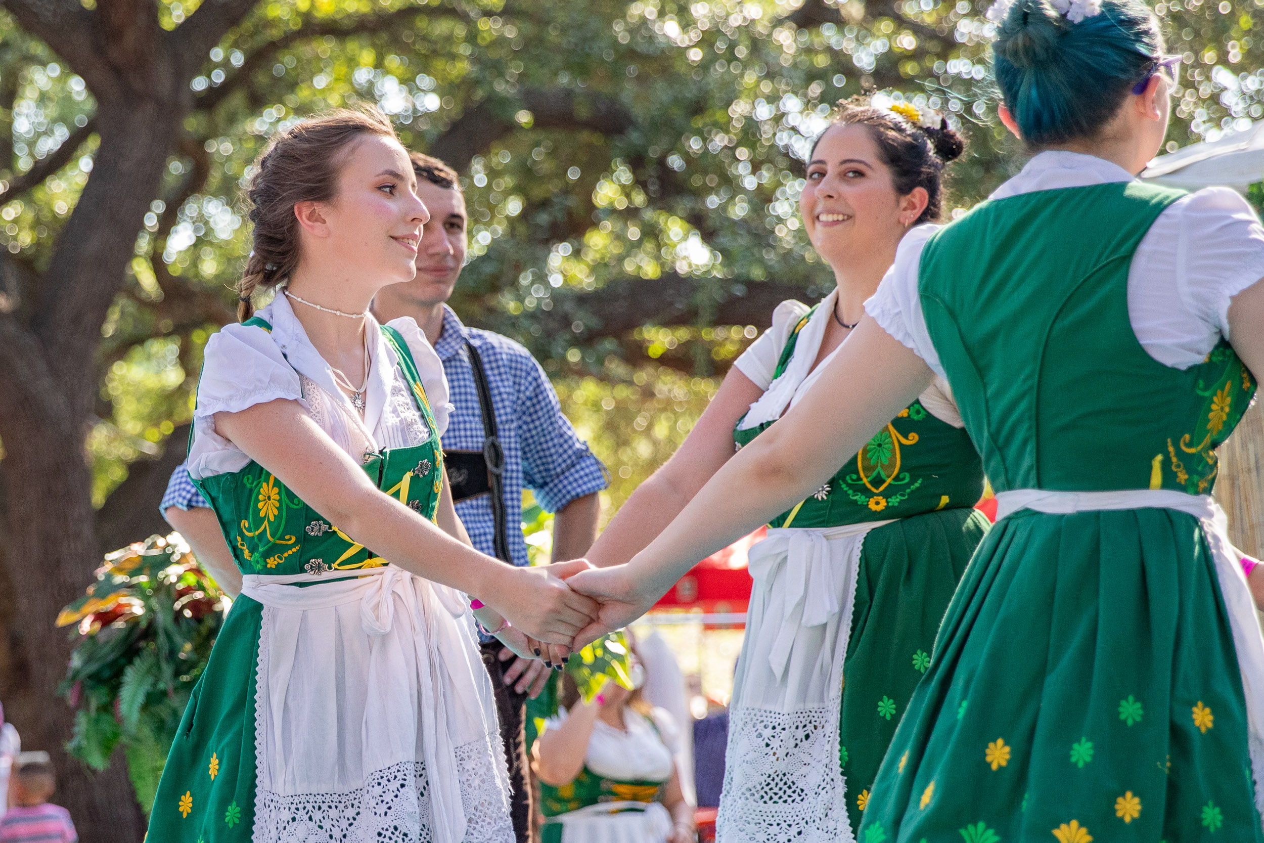 Traditional dances are performed at the Folklife Festival. (Photo by  Joel Pena  - Photographer, SA Sentinel)