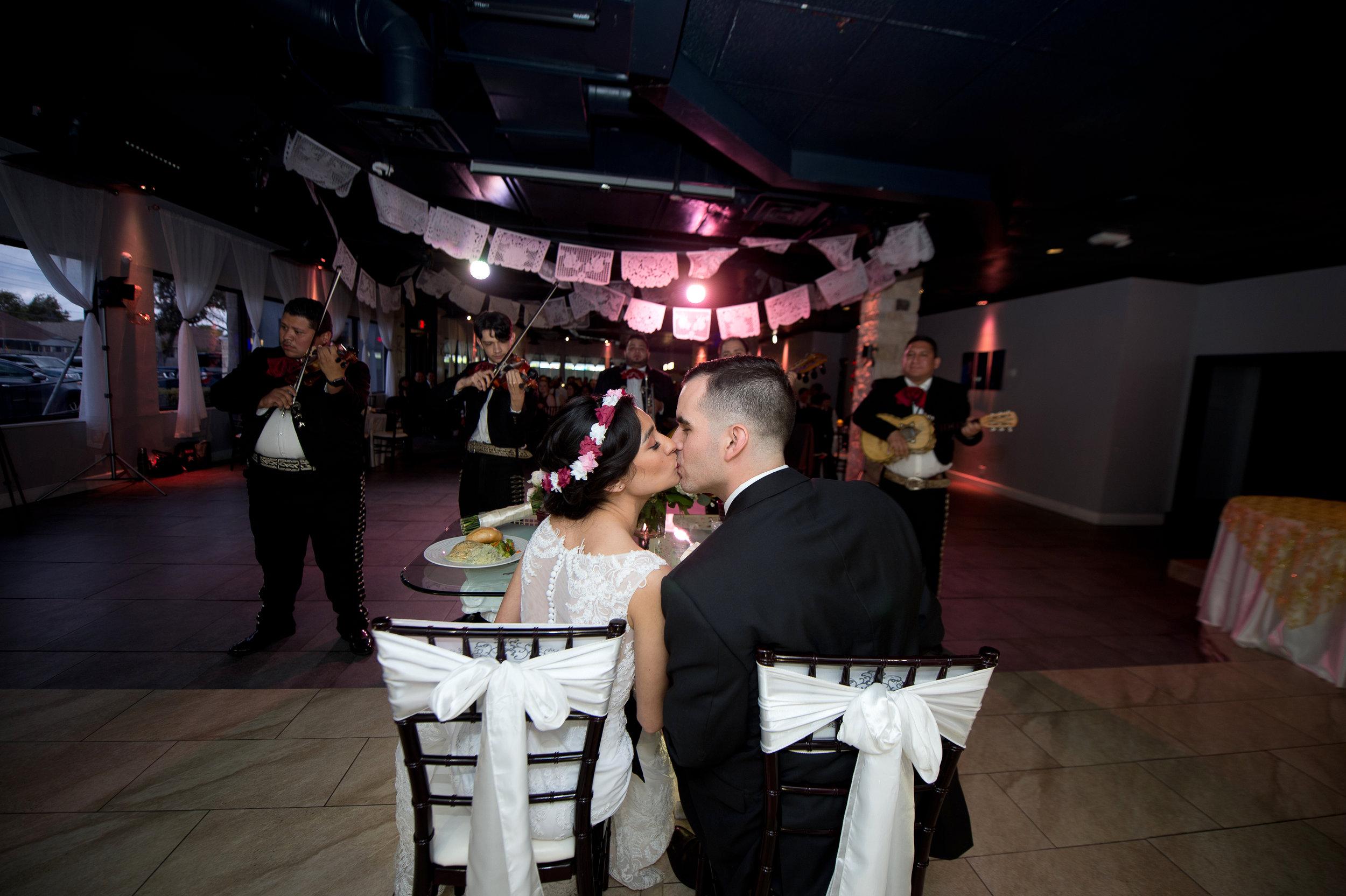 A happy couple celebrates their wedding day at Moonlight Ballroom. (Photo by  Dionicio Perez  - Photographer)