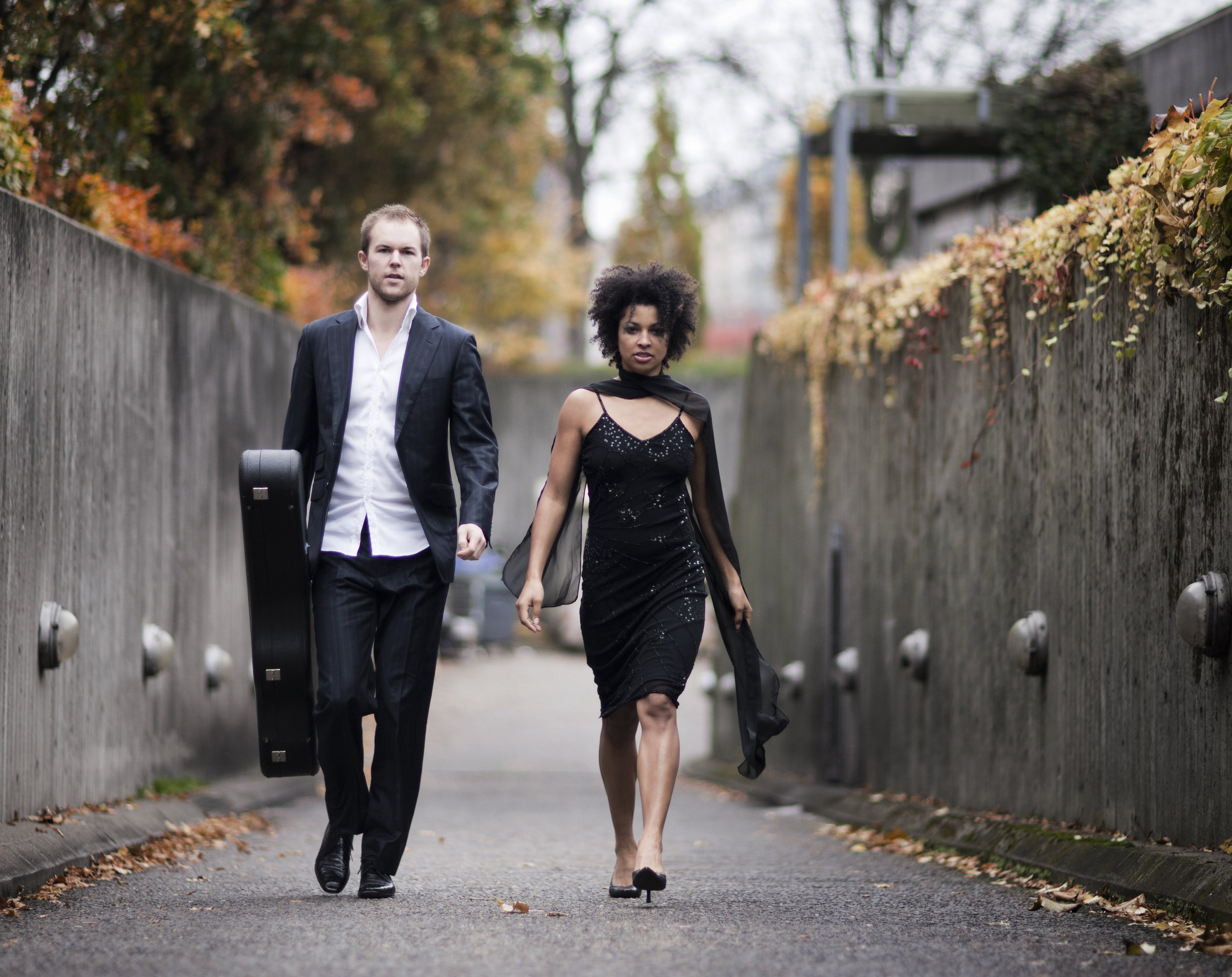 Bibiana Nwobilo and Jonas Skielboe