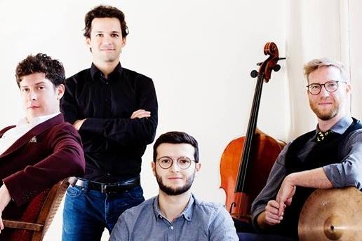 The Erlkings - Bryan Benner - Lied Singer, Guitarist and Poet Ivan Turkalj - Cellist, Simon Teurezbacher -Tuba, Thomas Toppler - Percussionist