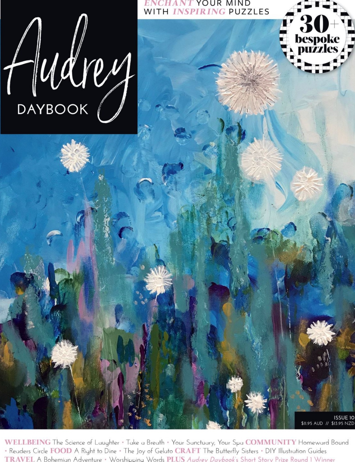 Cover of Issue 10 Audrey Daybook