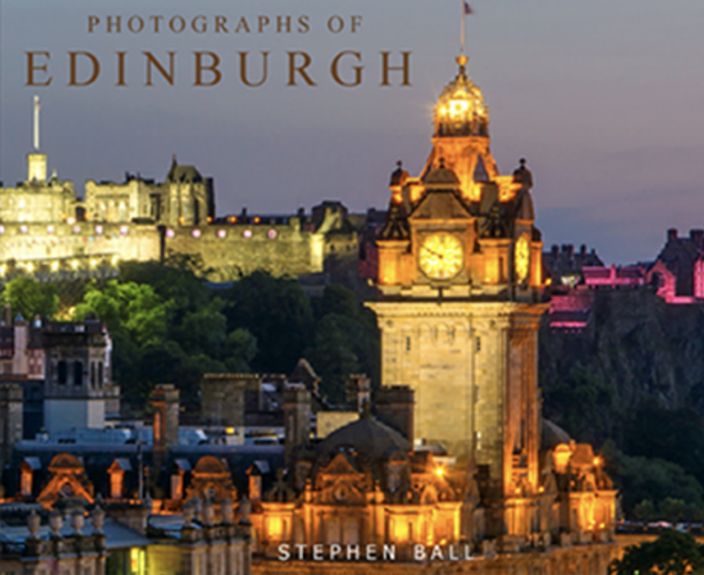PHOTO BOOK - Photographs of Edinburgh - A tourist book showcasing some of the photographs Stephen has taken across the capital city of Edinburgh.£14.99 - OUT OF SCOCK