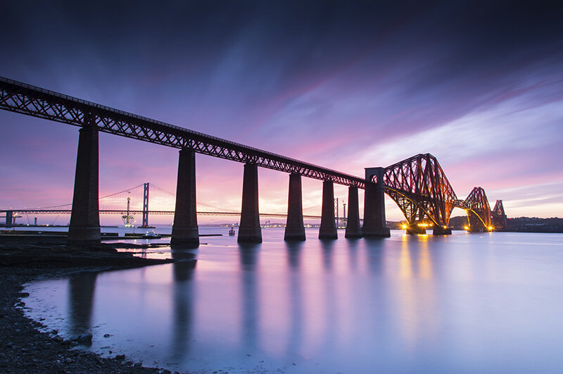 The Forth Bridges Tour -£65 (3hrs) - Capture the world heritage location of the Forth Bridges and the Queensferry Crossing(Dates are subject to availability)