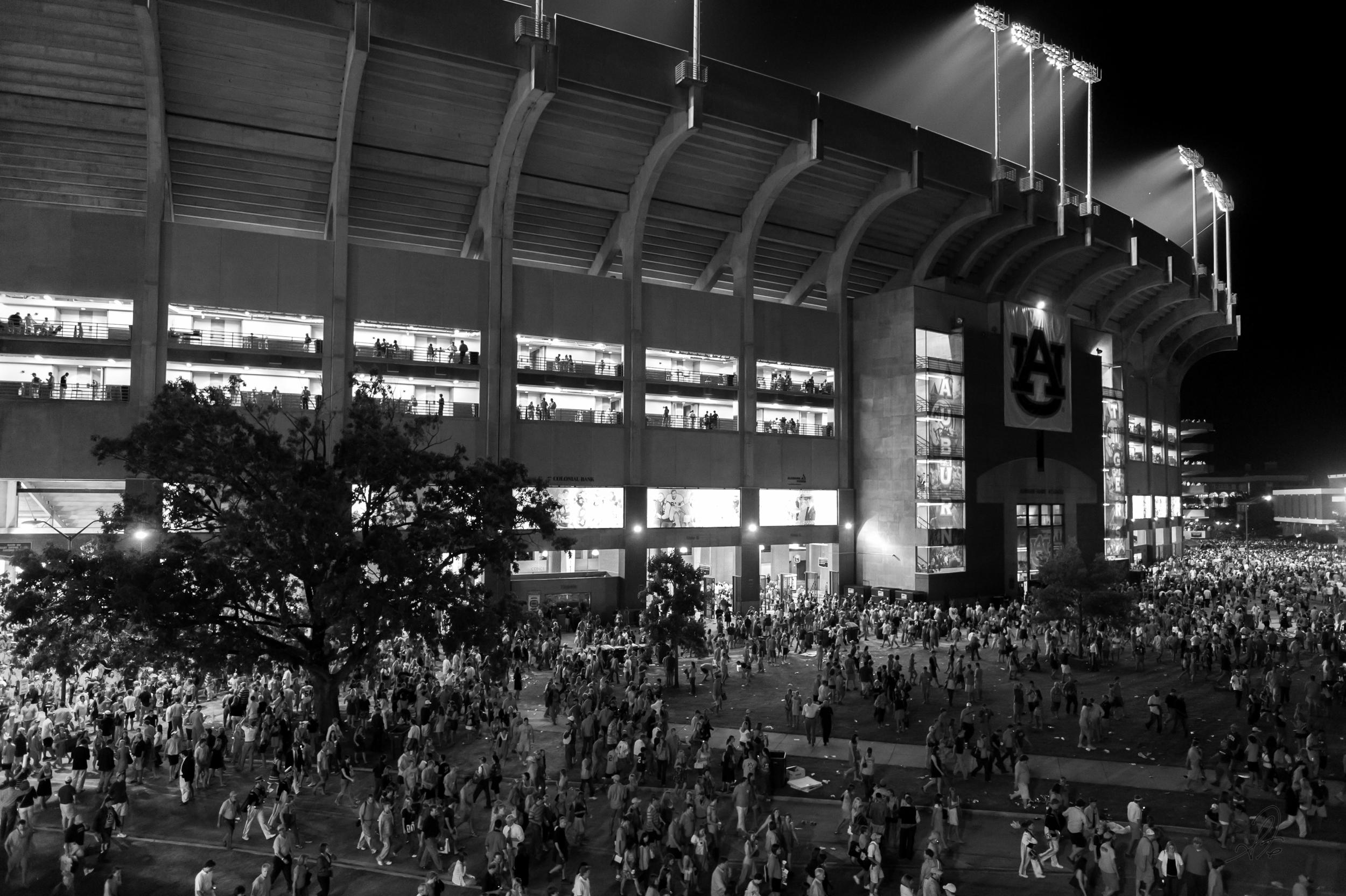 Jordan-Hare Stadium at Night (_d7a4859-3)