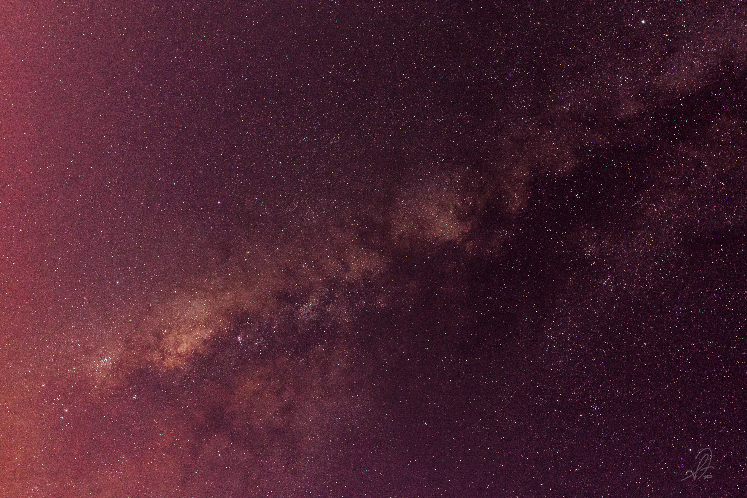 Milky Way Before Dawn