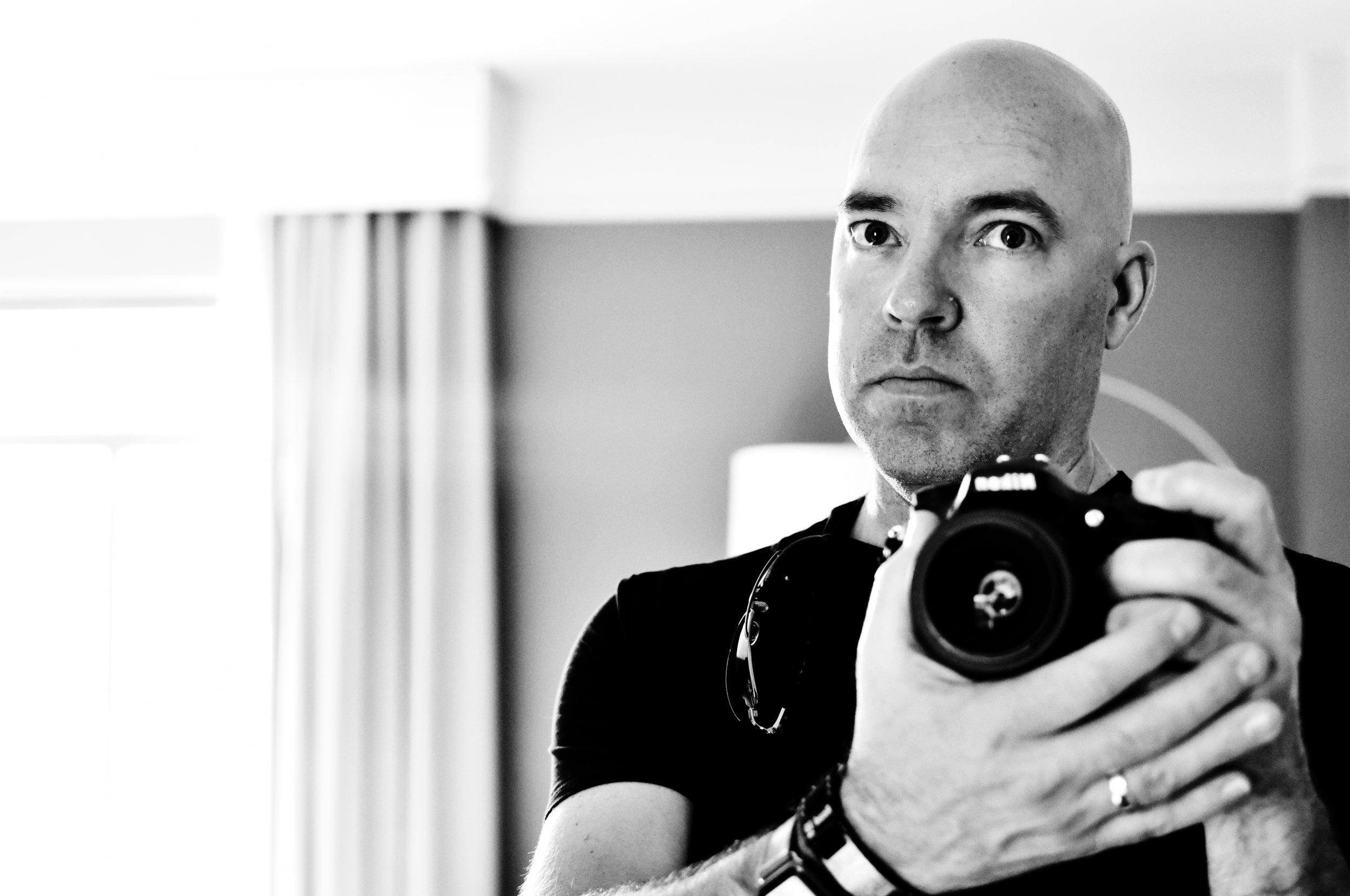 Self Portrait with My Nikon