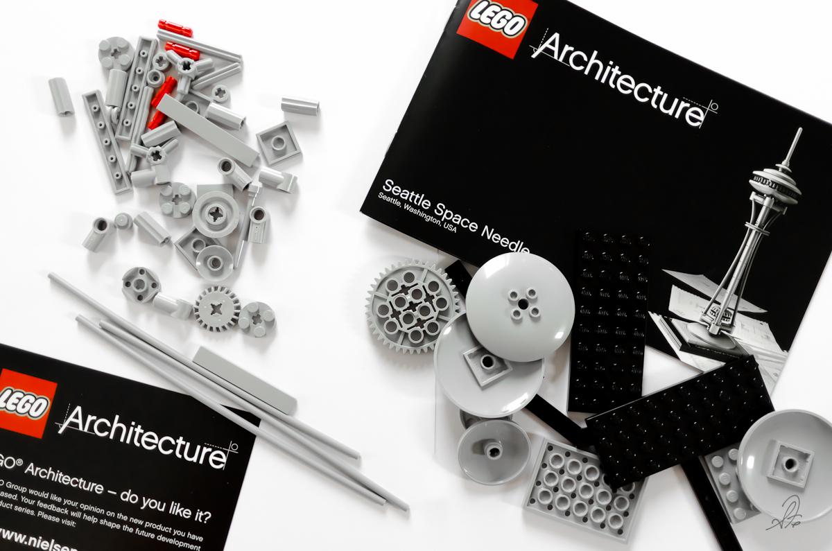 Seattle Space Needle Lego Architechture