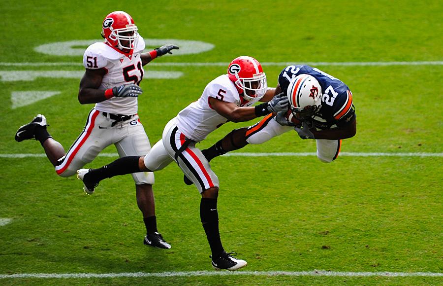 Auburn vs Geogia 2008 Football