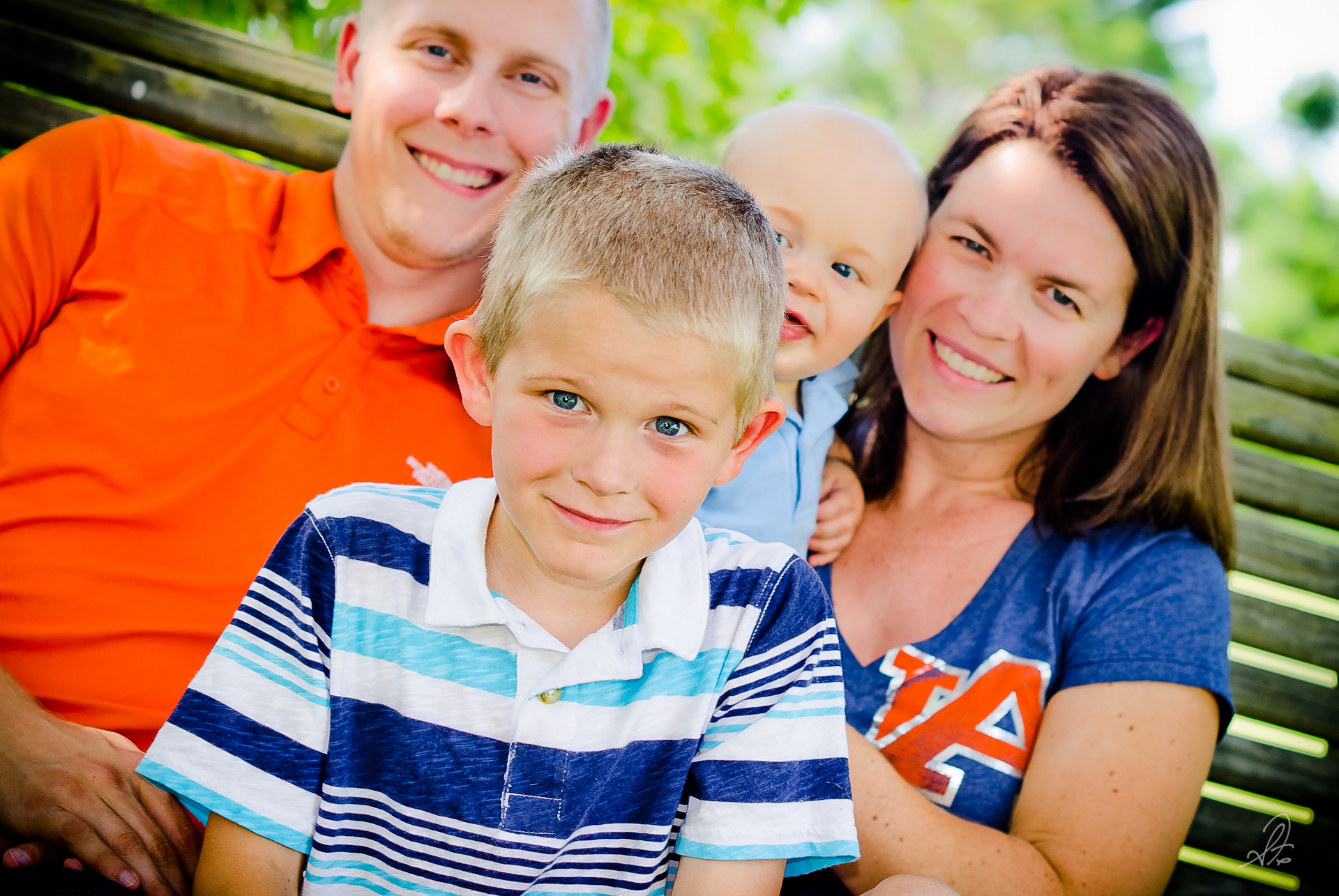 Fillmer Family on the Farm in Alabama