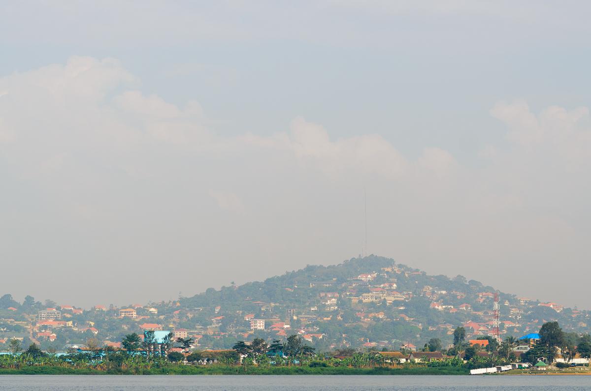 Kampala From Lake Victoria