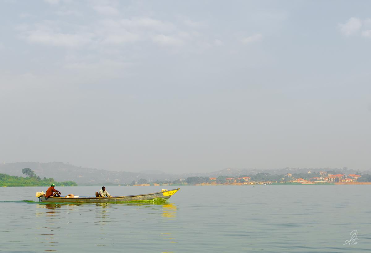 Fishing Boat in Lake Victoria