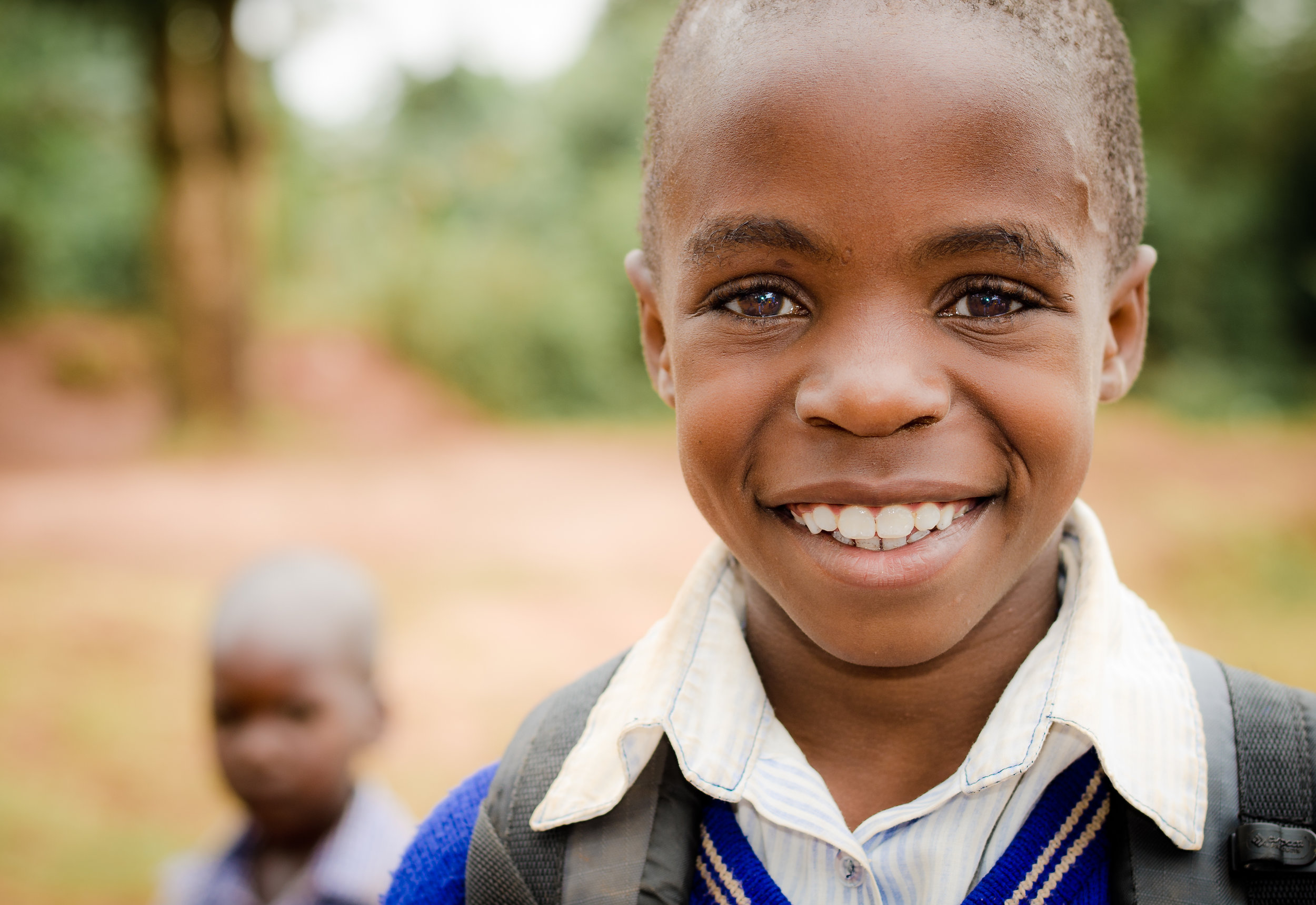 School Boy in Buloba Uganda