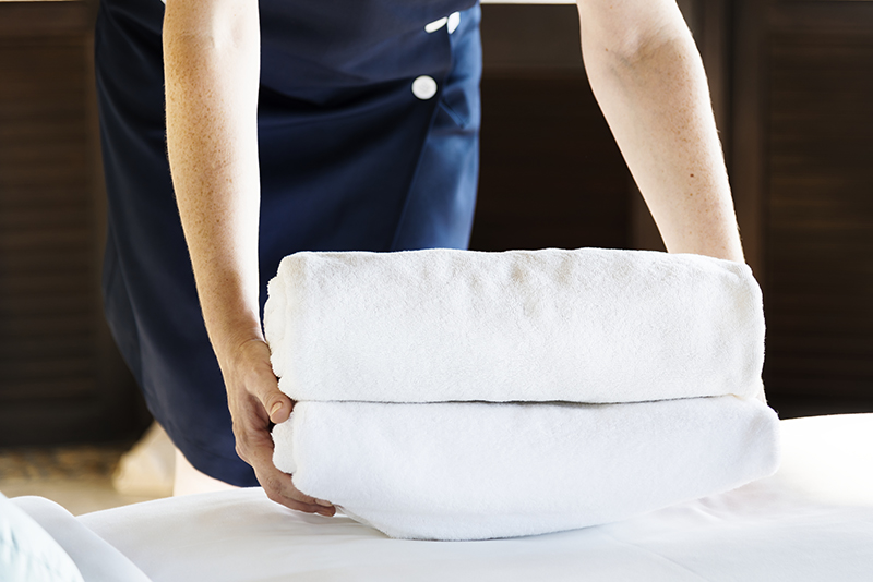 Linnendienst - Propere lakens en kussens zorgen voor een goede nachtrust. Persoonlijk linnen kan u laten wassen via de wasserij verbonden aan het Mayerhof.