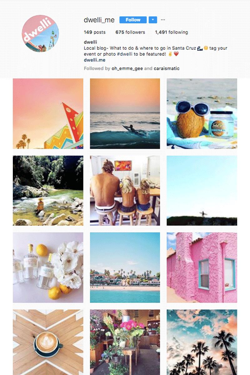 Dwelli App Instagram