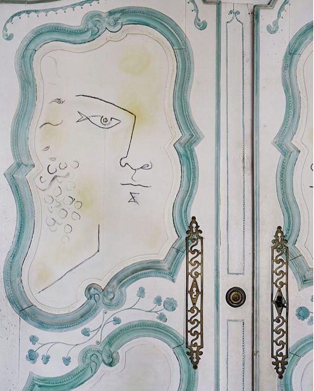 Interior inspiration: Cocteau's frescos 💫