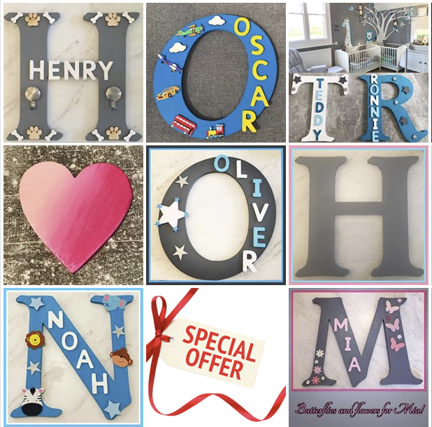 My Name Is - Personalised Wooden Letters