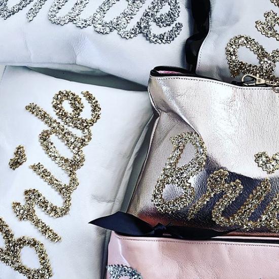 Lisa Bea Bags - Personalise glitter bags