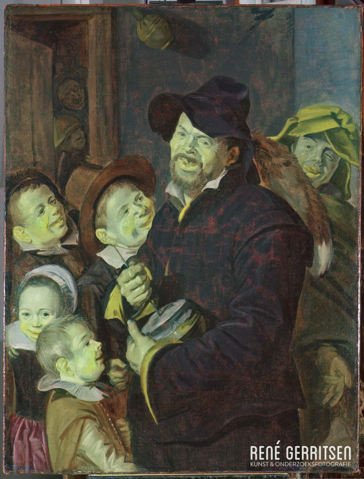 Infrarood False-Color - Schilderij Frans Hals