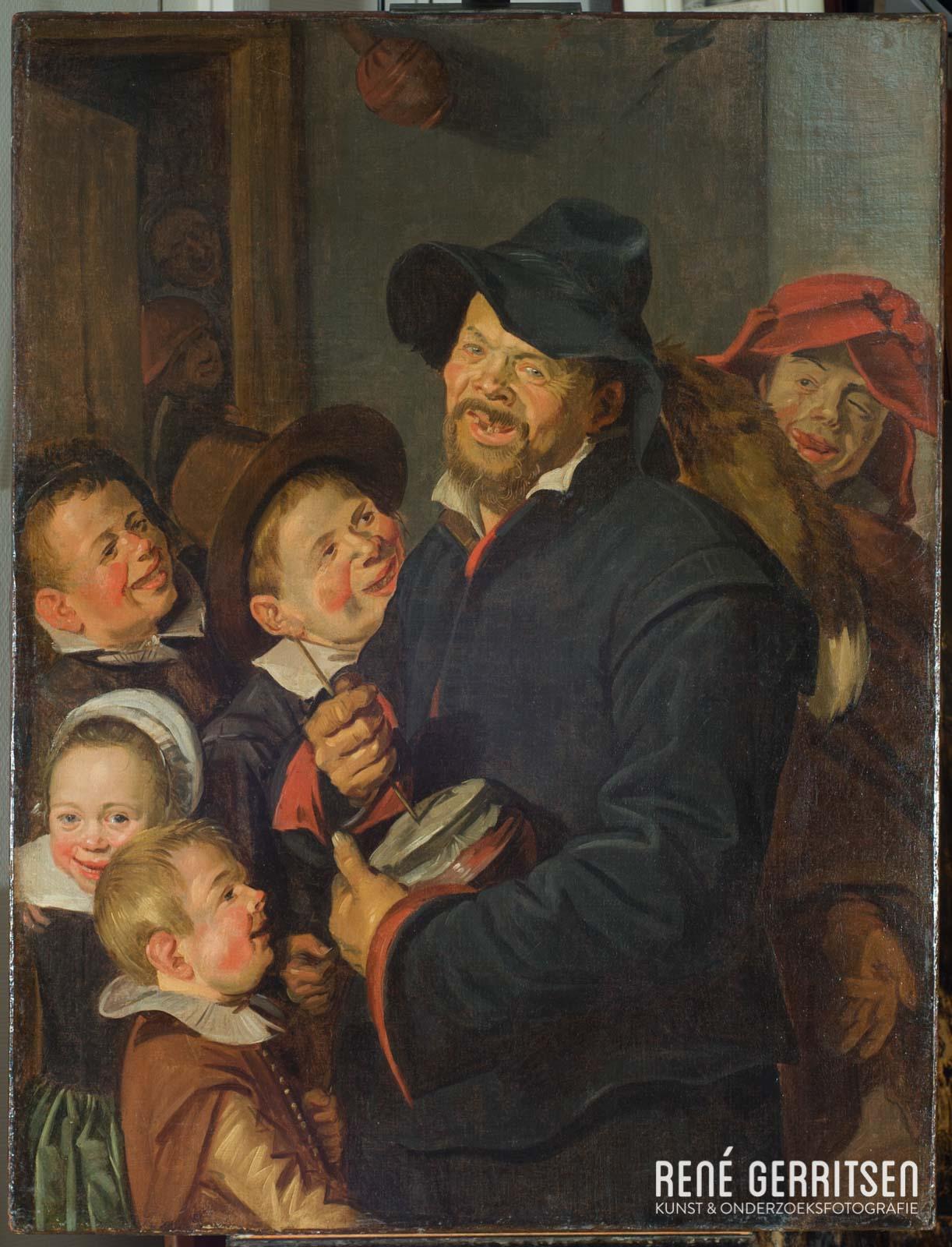 Normaal licht - Schilderij Frans Hals