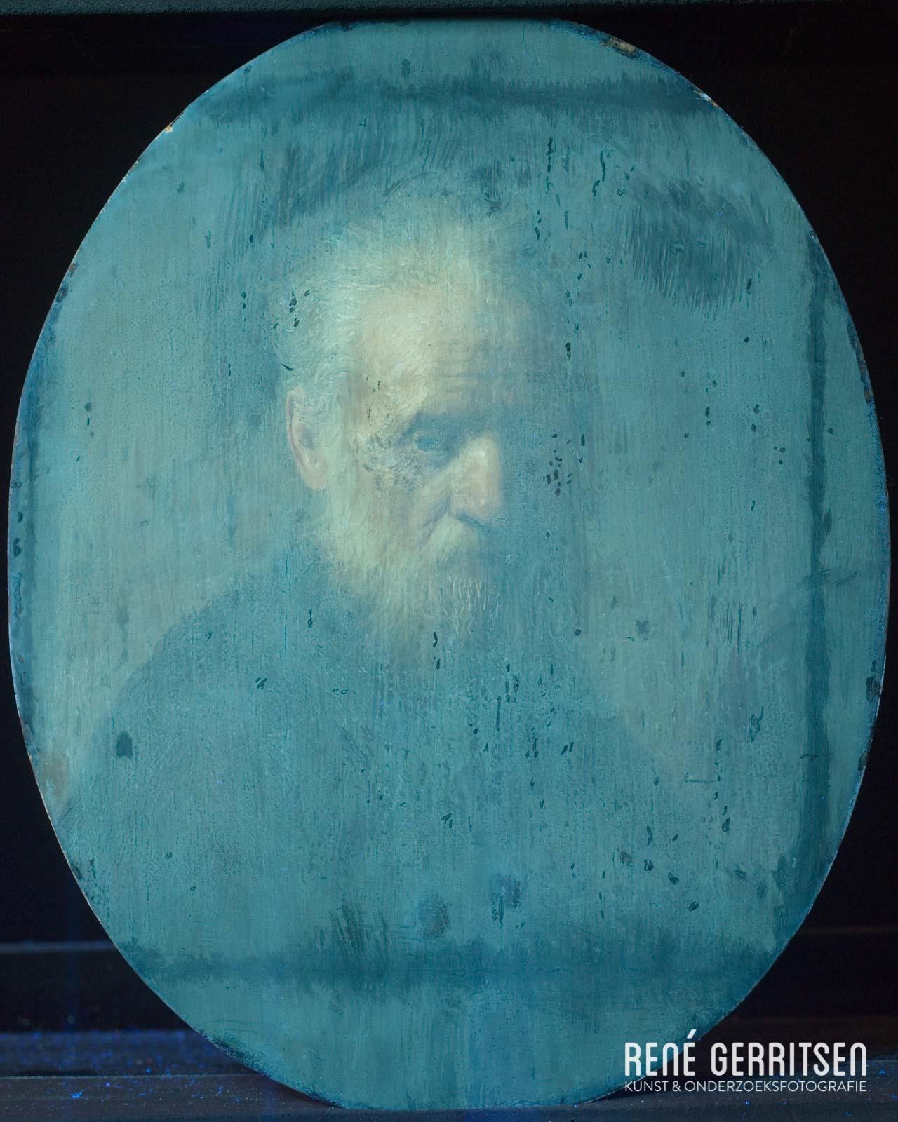 UV-fluorescentie  Rembrandt