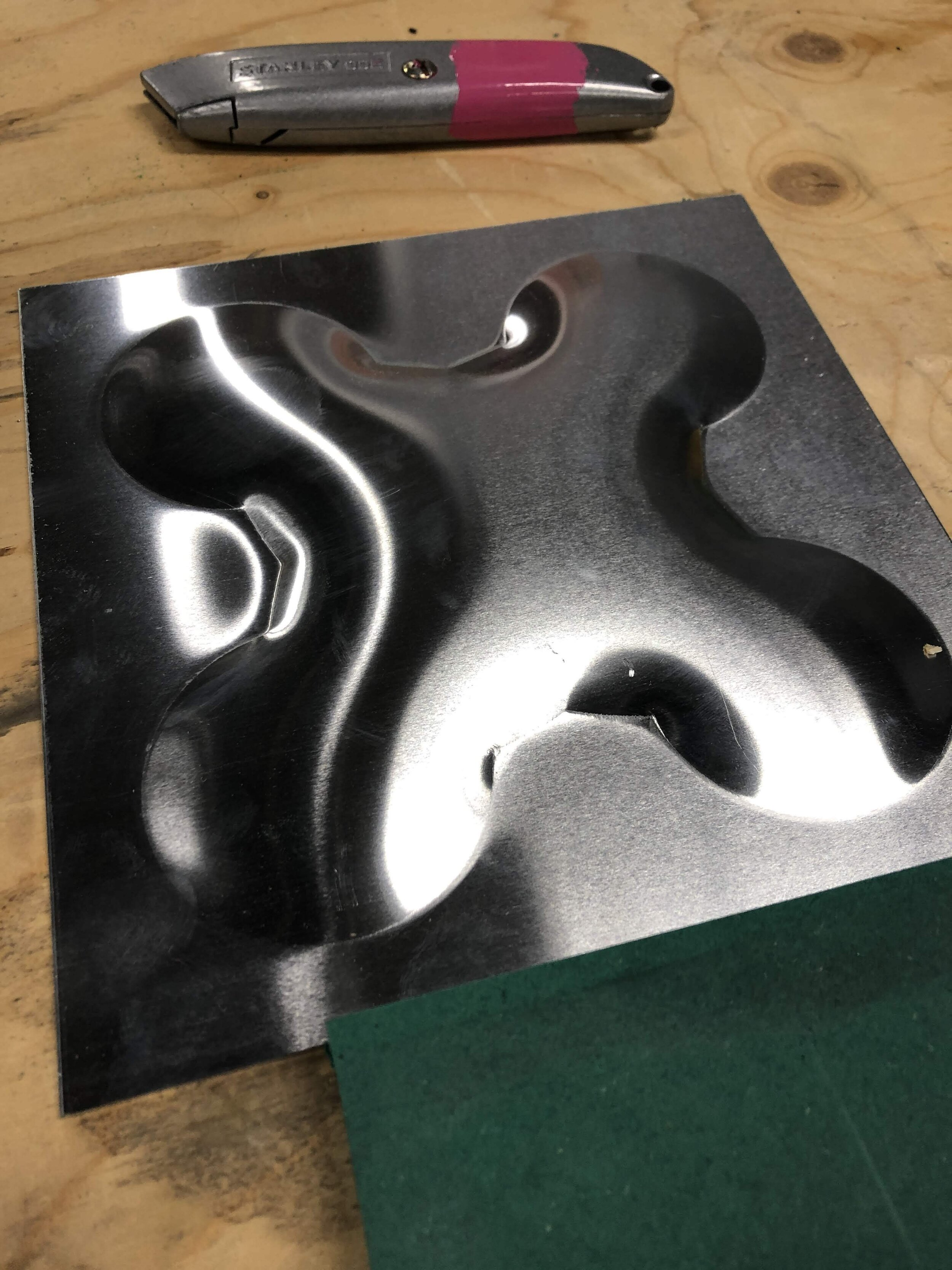 Pressed metal - Test Piece