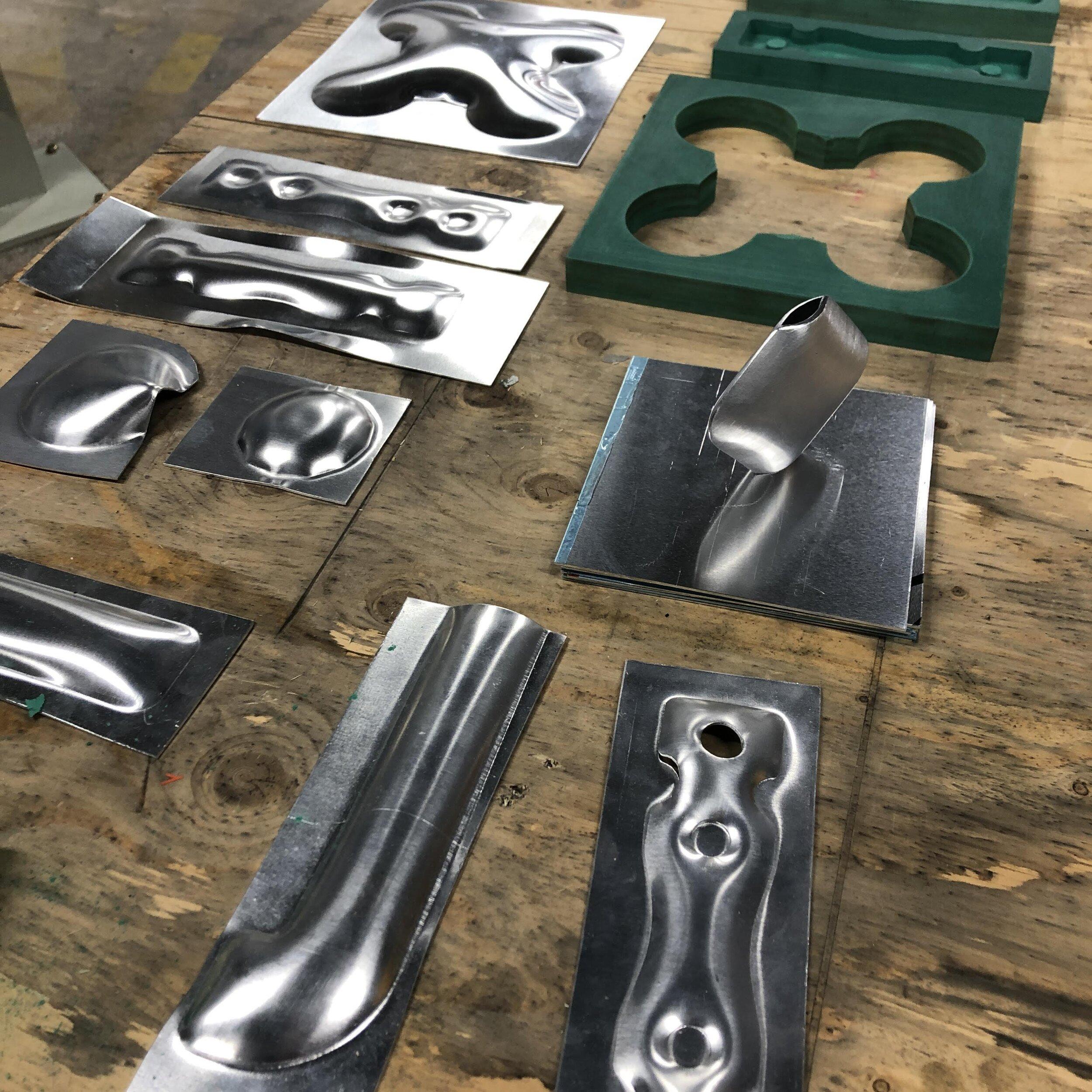 Press-form moulds - & work in progress