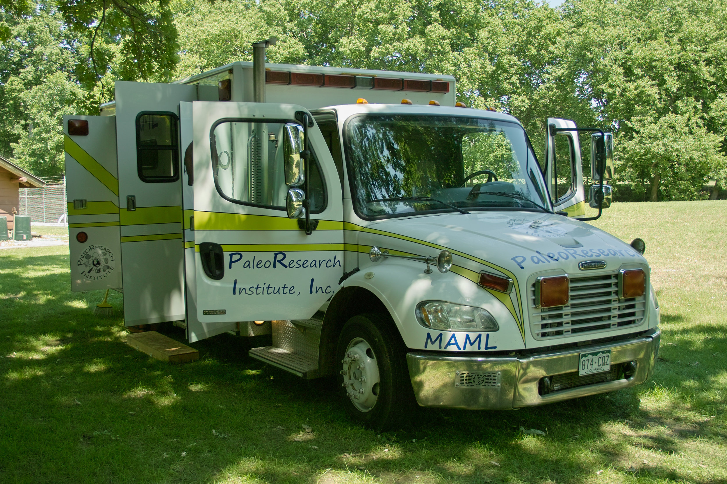 Mobile Archaeological Microforensic Lab (MAML)