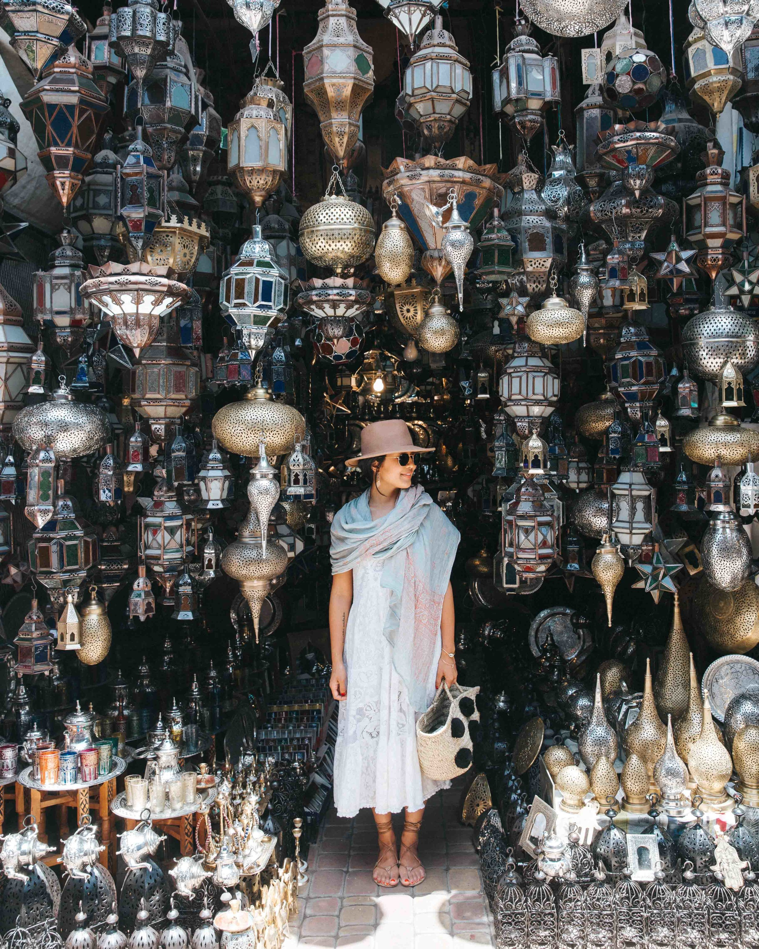 Things to do in Marrakech, Morocco: Shopping in the souks