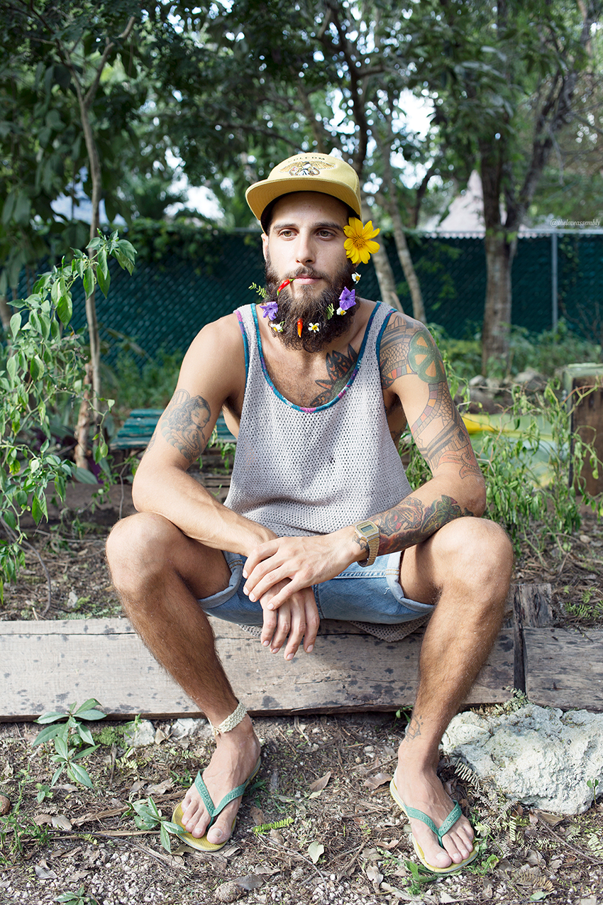 Flower Beard: How To // The Love Assembly
