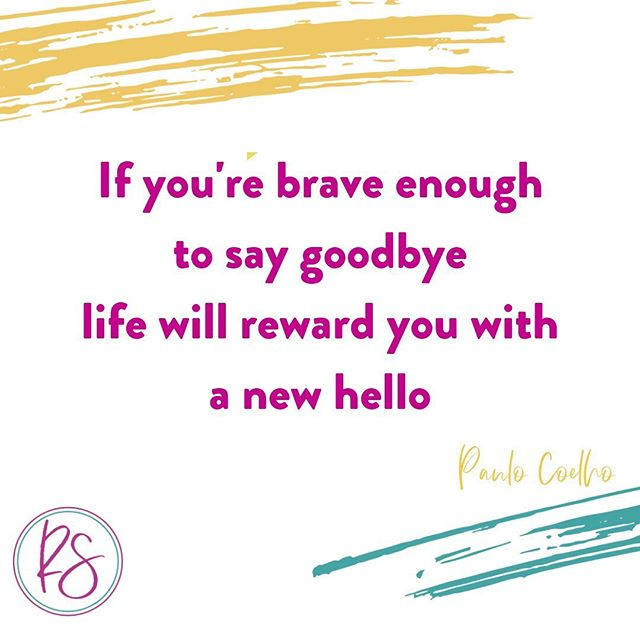 Isn't this a beautiful quote? Think about it...so true 😍 ⠀ ⠀ It can sometimes be difficult to let go. But it's important to remember to not cling to things, people, places or jobs that make us feel bad. ⠀ ⠀ When we're brave enough to make a change, we experience growth and make space for beautiful new experiences.⠀ ⠀ My recent goodbye was to a country I'd called home for the last 4 years - Oman. I took the leap into the unknown and moved back to my home country, England - a place I haven't lived in for the last 12 years. In the few weeks I've been back, I've already been rewarded in so many ways: ⠀ ⠀ ✨reconnecting with my favourite people who I haven't seen for a while⠀ ✨meeting some amazing new people ⠀ ✨attending beautiful events with like-minded women⠀ ✨connecting with family on a deeper level ⠀ ✨starting a wonderful new job which gives me the freedom to build my coaching and social media businesses⠀ ⠀ ...and so much more!⠀ ⠀ So if making a change has been on your mind and you're ready to say goodbye, focus on the good things that will come after you make the space and lean in.