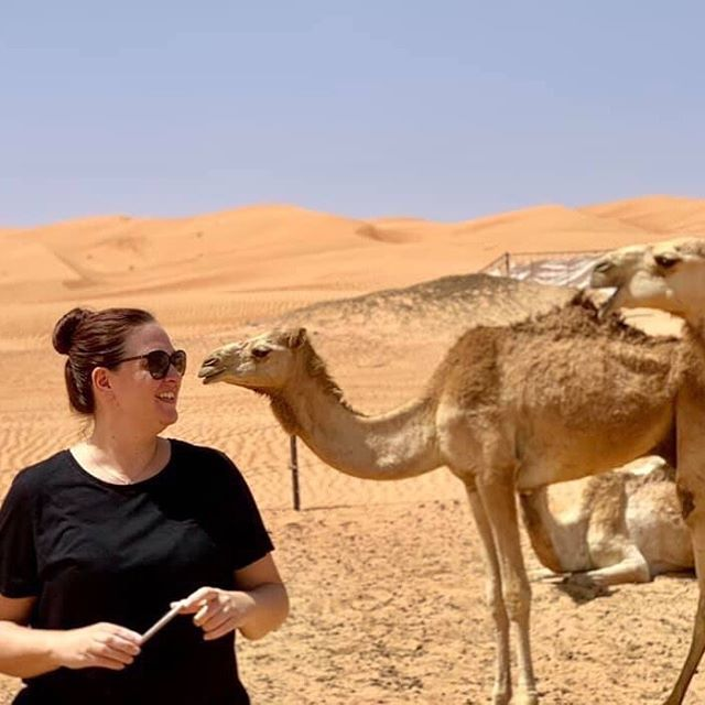 """Memories of an expat in Oman 🐪⠀ ⠀ I love camels! I remember when my husband's brothers came to visit, we were driving and suddenly I spotted some camels roaming by the side of the road. It was the first time I'd ever seen them and I squealed in delight! It was a pretty normal sight for them so they thought I was a bit ridiculous 😂 How beautiful are camels though? ⠀ ⠀ I left Oman almost 2 months ago and even though I had a wonderful 4 years there, I can't say I miss it yet. I probably will somewhere down the line but I know for certain that moving home to England was 100% the right decision for me at this moment. ⠀ ⠀ Moving home after time abroad isn't easy. But having an open mind and not having expectations that things will be like before definitely helps. I'm seeing my hometown with new eyes and it's so refreshing. ⠀ ⠀ I can honestly say I've made many places """"home"""". I believe home is a feeling you have of belonging somewhere, not only where you're originally from. Would you agree? ⠀ ⠀ So for now I'll remember Oman fondly and focus on enjoying being home with family and closer to my favorite people. That's what home is to me, wherever it may be ♥️ #homeiswheretheheartis #belonging #belonganywhere #repatriation #expatlife #expatlifestyle #changeisgood #mindsetcoach #lifecoachforwomen #expatcoach #expatcoaching #expatcoachingonline #expatmemories #lifeisgood #gowhereyoufeelmostalive"""