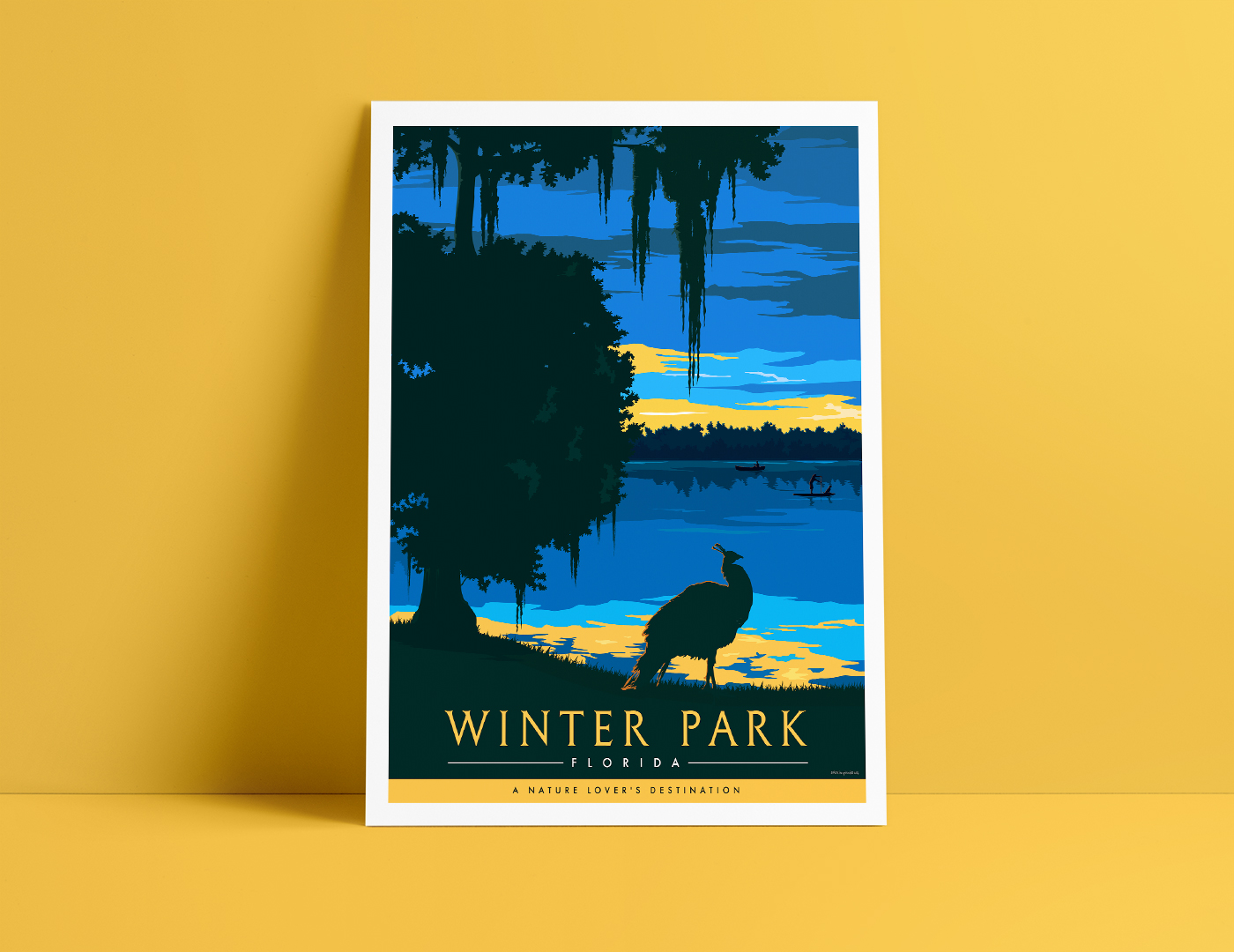 Travel Florida Poster Design
