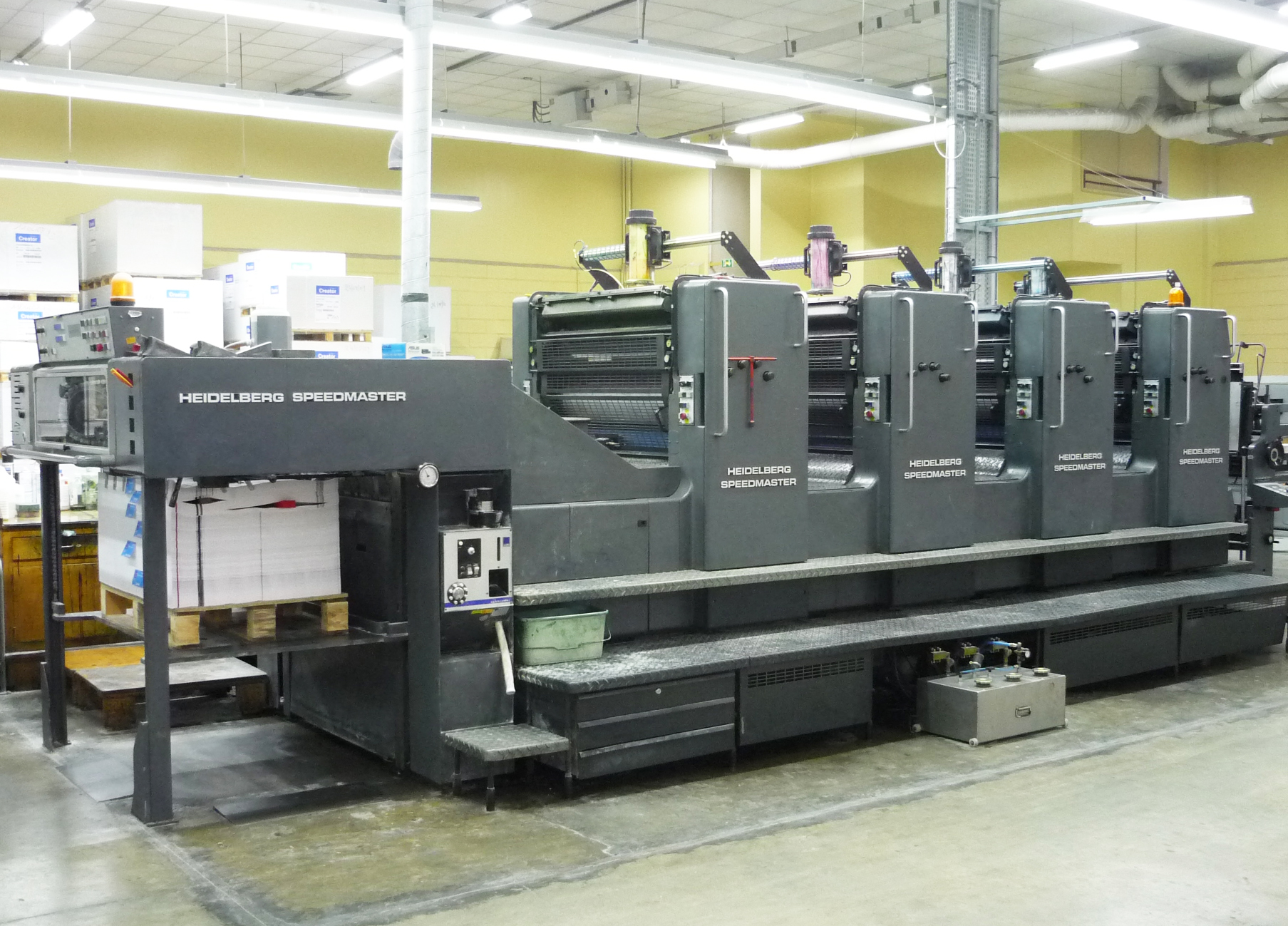 Our prints are processed on the four color heidelberg press. - Other printing options are available for custom work.