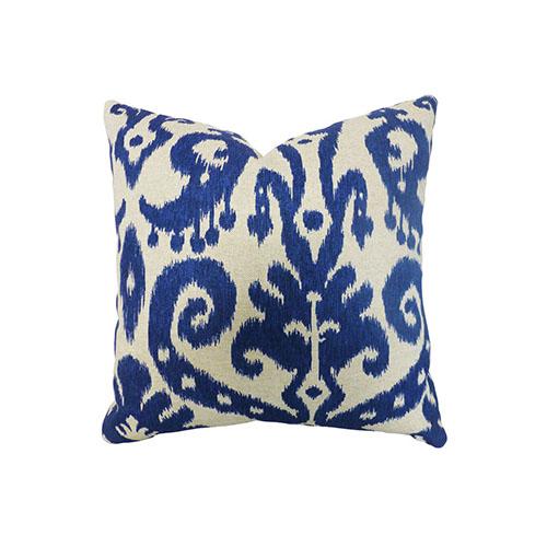 Indigo Ikat Cushion