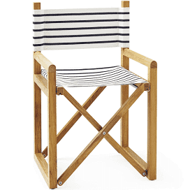 Striped Director's Chair