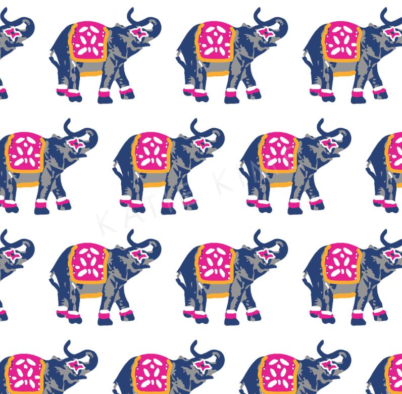 ELEPHANTS MARCH WALLPAPER