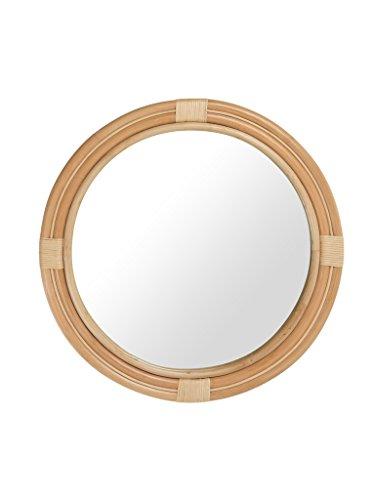 Nautical Rattan Round Mirror