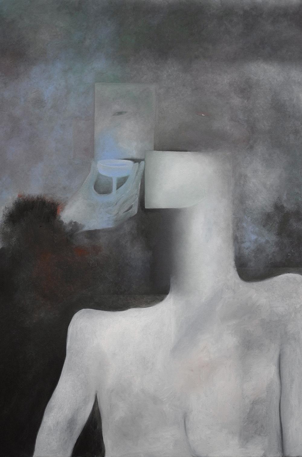 3. S. Derviz, 'Night shift', oil on canvas, 100 x 70 cm, 2019.jpg