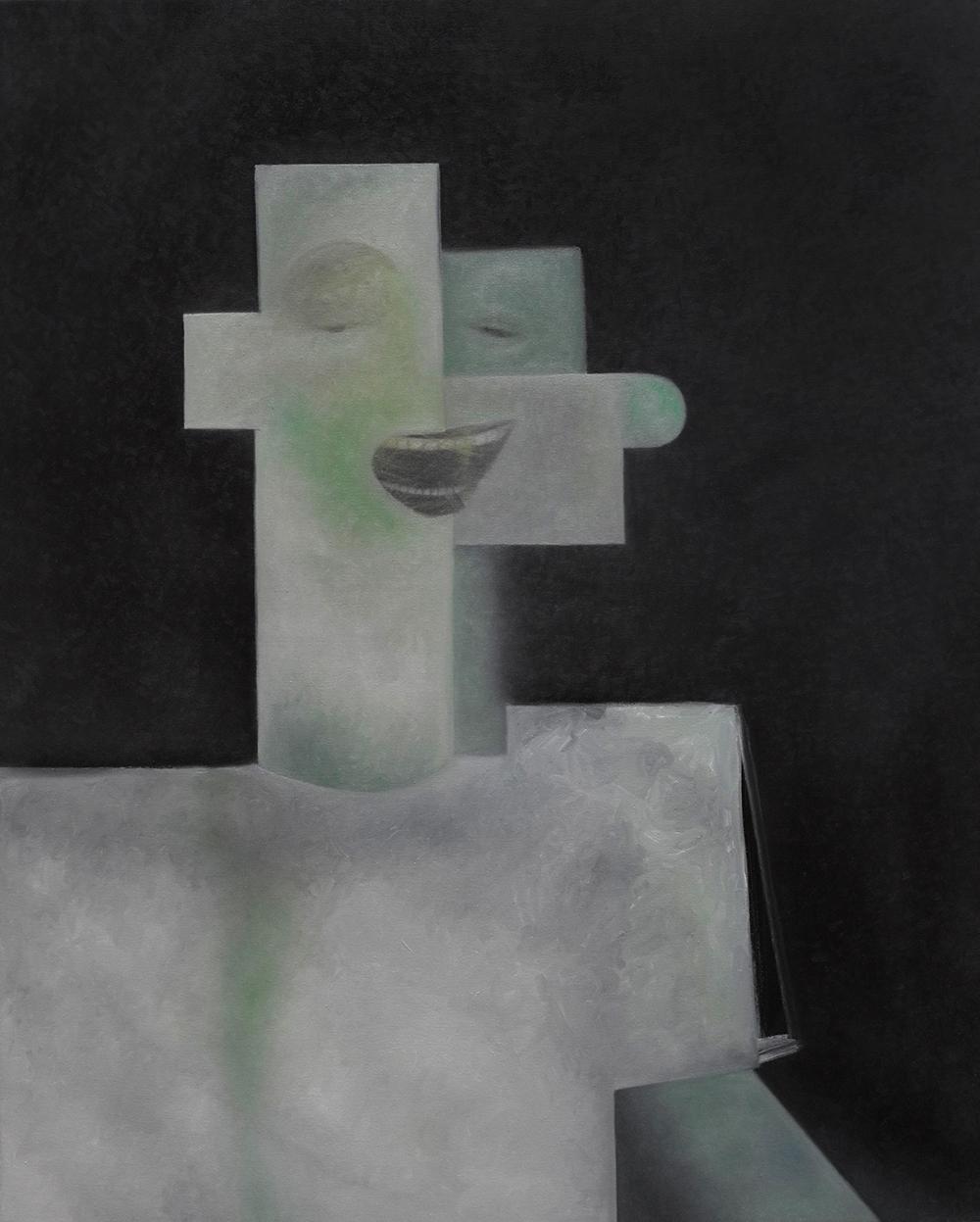 4. S. Derviz, 'Face' oil on canvas, 100x 80 cm, 2019.jpg
