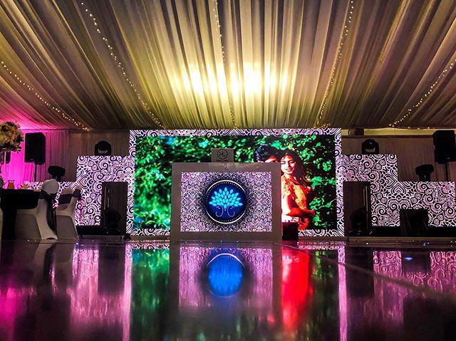 WoW 😮 Thanks @tejasshahphoto what a shot of our setup today!! #notjustadj #booknow #booking #bookings #dj #wedding #reception #party #celebration #celebrate #peacock #planning #music #bhangra #bollywood #djs #swaha #swahamusic #dance #dancing #entertainment #weddingreception #destination #traveldj #events #brideandgroom #bride #groom #weddingbells #bigday