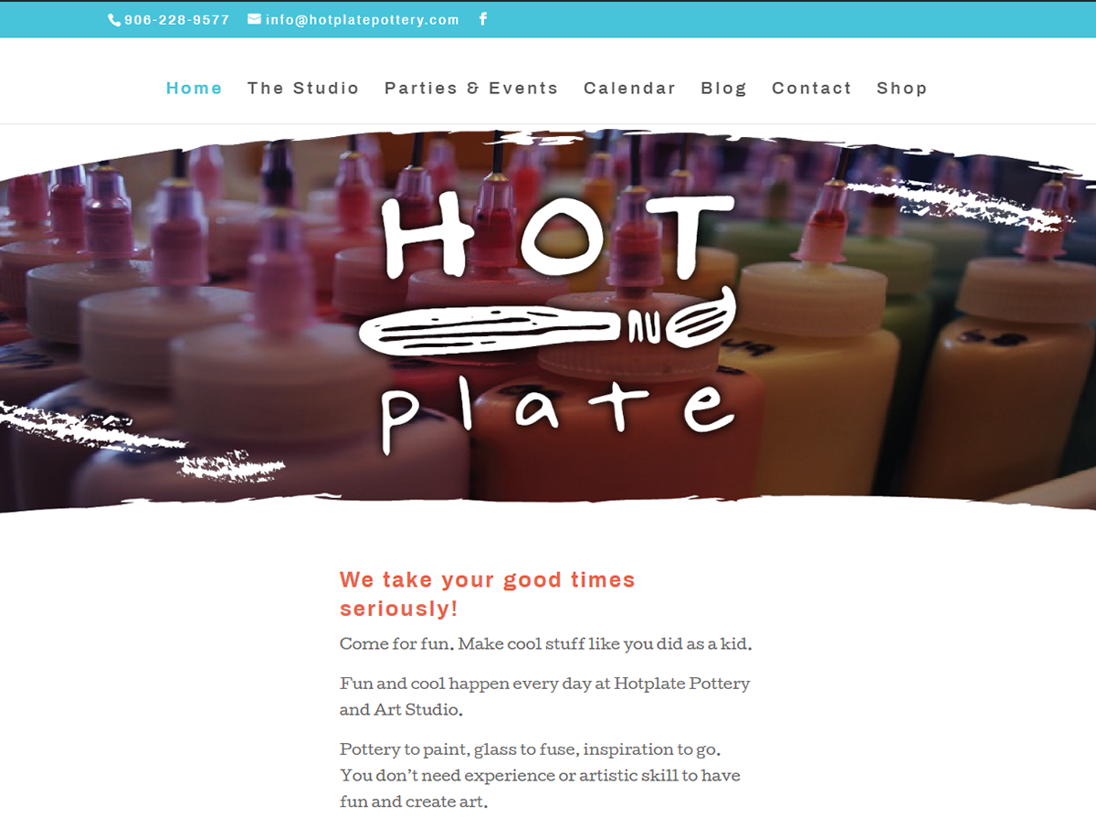Part of HOTplate's rebranding included designing their website so it was easier to use, more informational, and a lot nicer to look at. Click the image to check out the live HOTplate website.