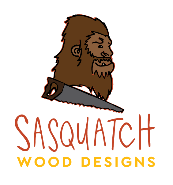 Digitizing a cute lil drawing I made of Sasquatch, as well as a sassy scrawl of his name, I created a logo that was not only fun and eye-catching, but also translated well to social media use.