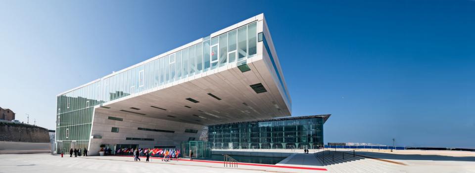Event held at Villa Méditerranée, Marseille (France)