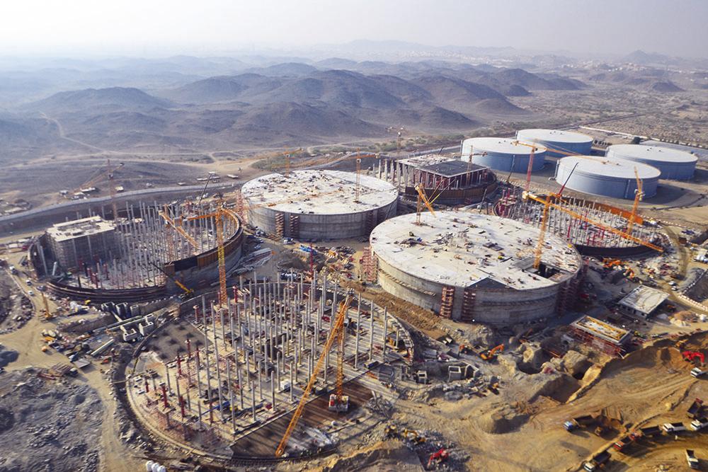 Briman Strategic Water Reservoirs, Saudi Arabia