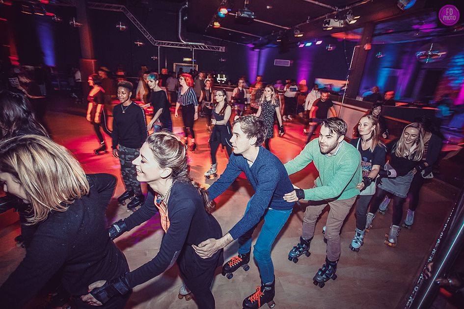 Join the Party Line - Roller Disco in London