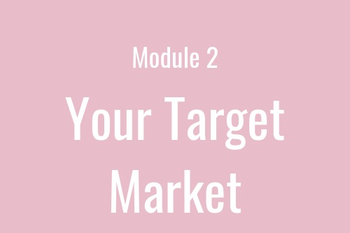 Your target market is one of the most important things for you to identify. We'll get super clear on who it is you are trying to help and how you can help them. We'll find them, start interacting with them, and learn what it is they need most from you.