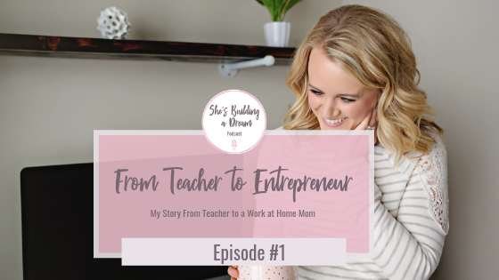 from teacher to business owner