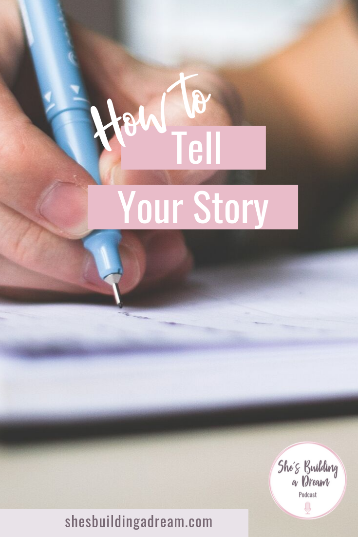 how to tell your sales story
