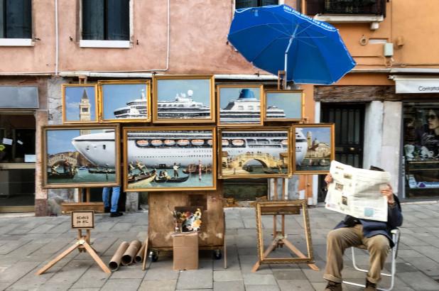 Venice in Oil   Banksy   2019